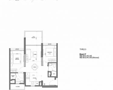 the-woodleigh-residences-floor-plan-2-bedroom-flexi-type-c1