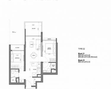 the-woodleigh-residences-floor-plan-2-bedroom-flexi-type-c2