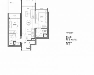 the-woodleigh-residences-floor-plan-2-bedroom-flexi-type-c2v