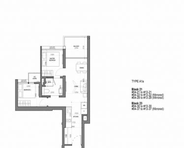 the-woodleigh-residences-floorplan-2-bedroom-type-a1a