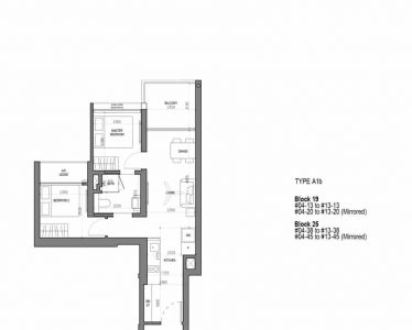 the-woodleigh-residences-floorplan-2-bedroom-type-a1b